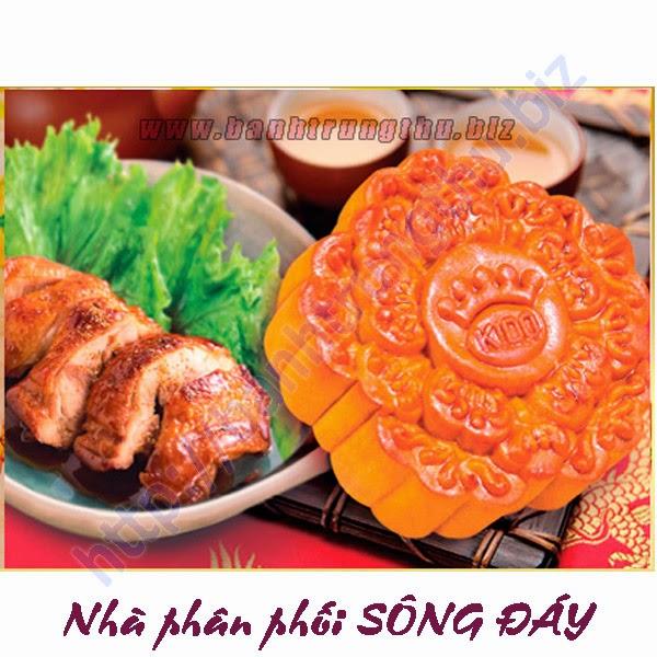 Bánh Trung thu Kinh Đô Gà quay Jambon chiết khấu cao