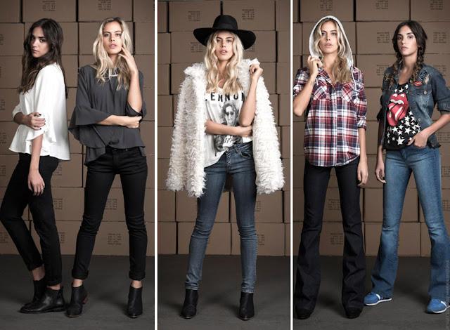 Ropa de Mujer Wupper Jeans colección otoño invierno 2016. Moda invierno 2016.