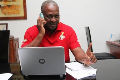 Mahama warned Ghanaians and his social media followers to be wary of fake social media handles in his name