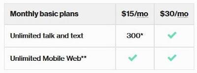 verizon cell phone plans