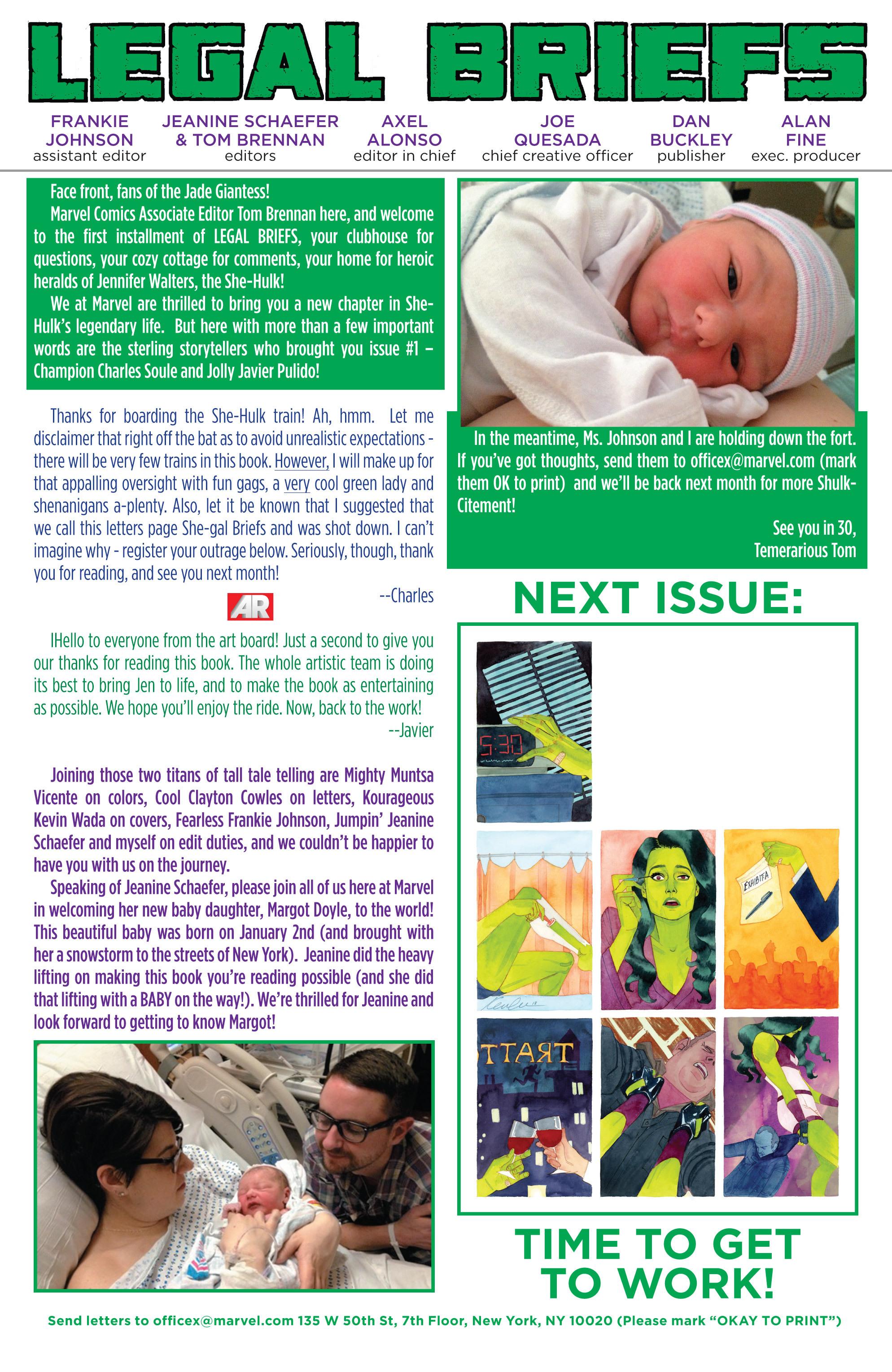 Read online She-Hulk (2014) comic -  Issue #1 - 21