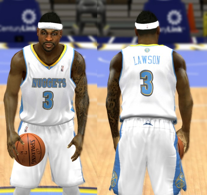 Denver Nuggets Players: NBA 2K14 Complete Denver Nuggets Jersey Patch