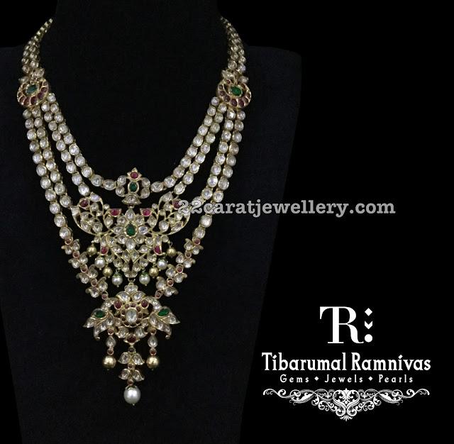 Latest Uncut Diamond Set by Timarumal