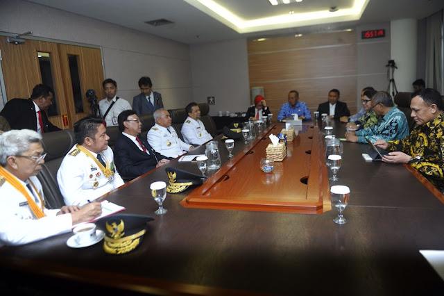 Mendagri Ajak HDMY Silaturahmi dengan Pimpinan KPK