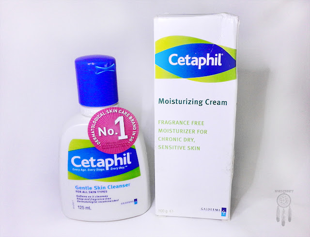 Review Cetaphil Gentle Skin Cleanser & Cetaphil Moisturising Cream