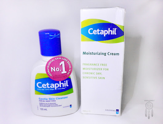 Dreamcatcher | Lintang Pratiwi's - Indonesian Beauty Blogger: Review: Cetaphil Gentle Skin Cleanser & Cetaphil Moisturising Cream