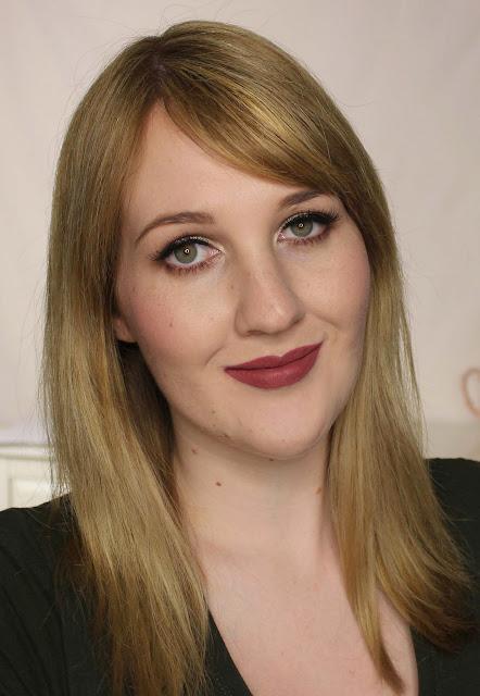 ColourPop Ultra Matte Lip - Perky Swatches & Review
