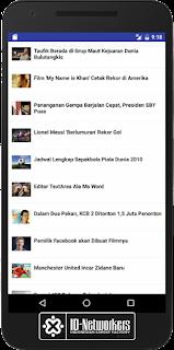 Membuat Aplikasi Portal Berita Android dengan JSON