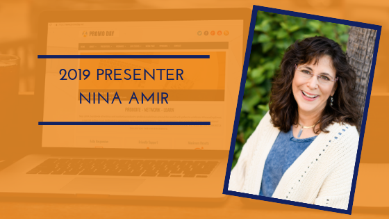 Introducing #PromoDay2019 presenter Nina Amir