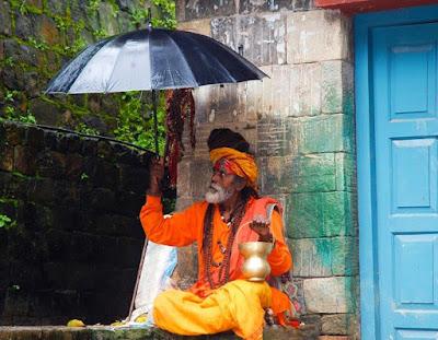 old indian guruji saint