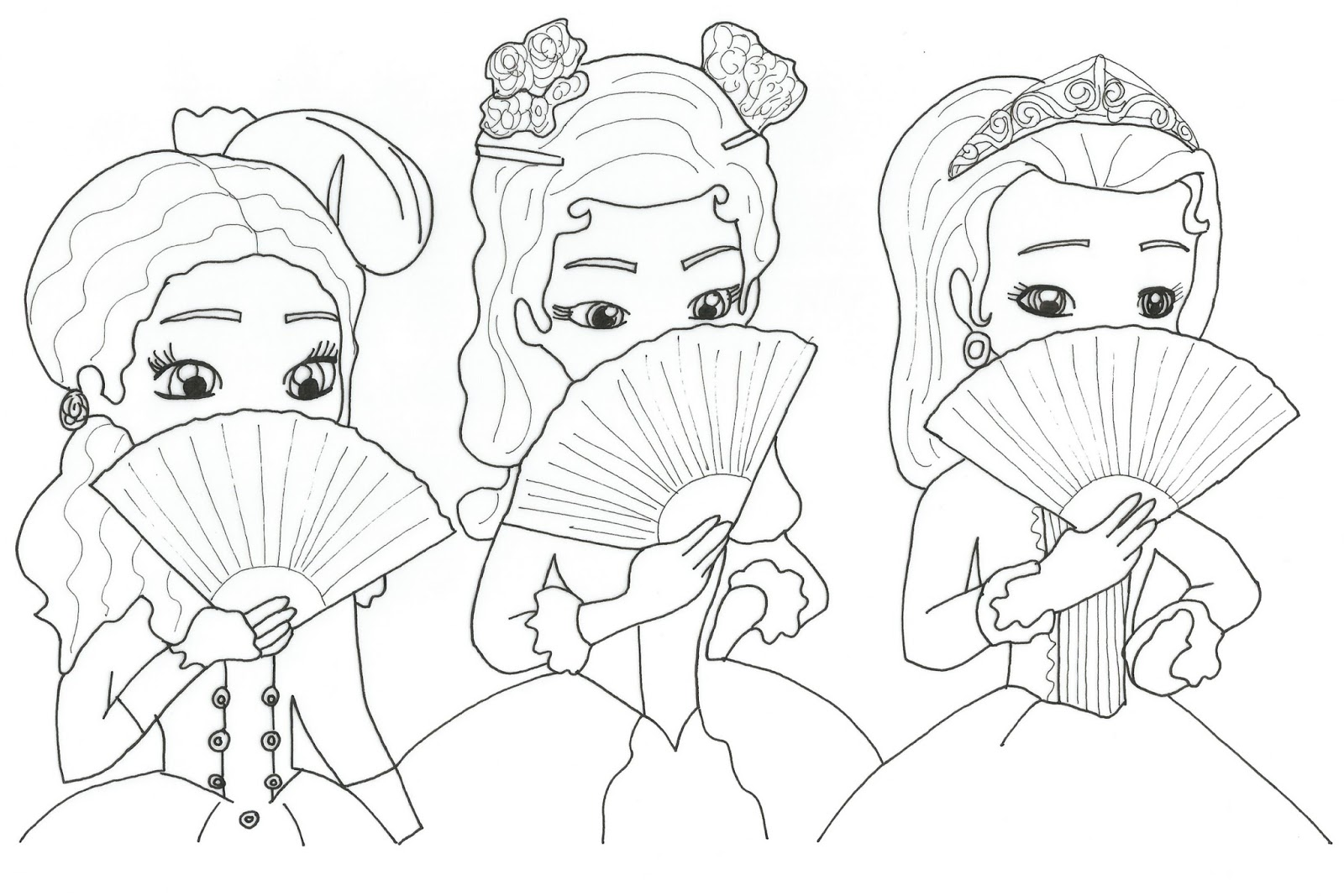 Sofia The First Coloring Pages Sofia The First Free Printable