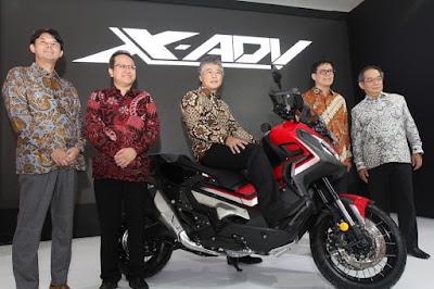 Honda X-ADV Dirilis di IIMS 2019
