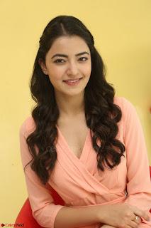 Rukshar Mir in a Peachy Deep Neck Short Dress 053.JPG