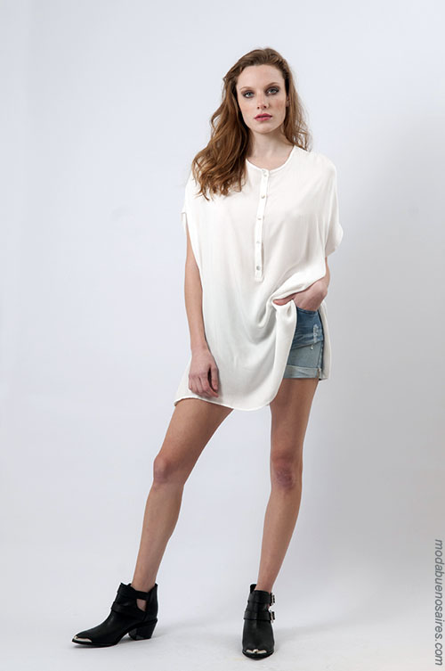 Moda mujer verano 2018 ropa de moda.