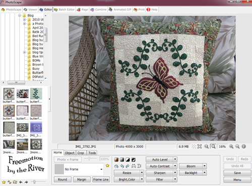Photoscape Editor Window