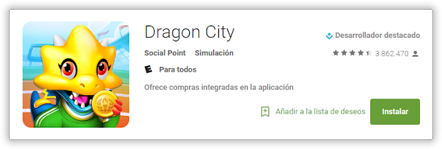 dragon city android playstore instalar