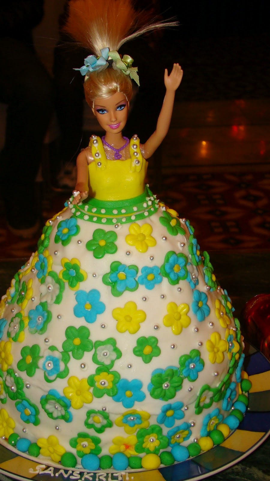 Barbie Revisited Happy Birthday Sanskriti Baketitude