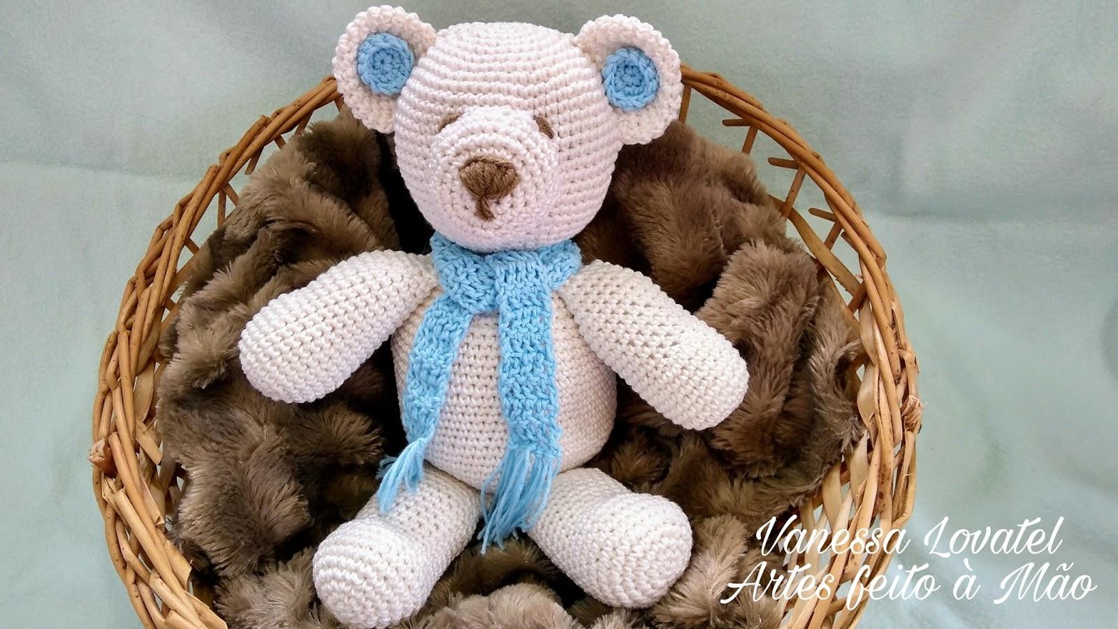 Urso Slin bebê amigurumi em croche no Elo7 | Afeto entre Barbantes ... | 900x1600