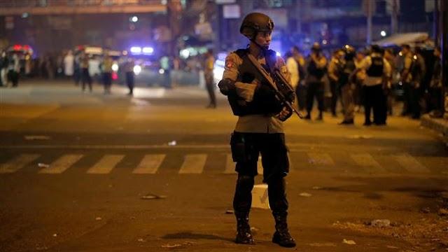 Twin blasts rock Indonesian capital Jakarta, fatalities reported