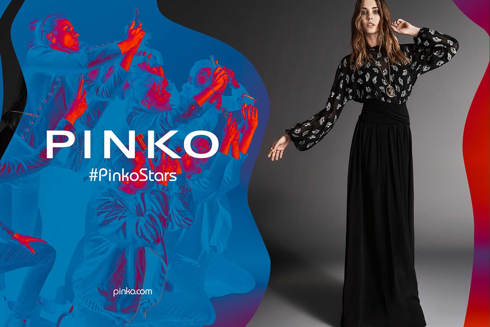 Fall pinko winter campaign rare photo