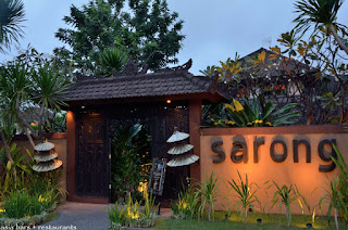 Job Vacancy as BAR MANAGER for Sarong Restaurant Group