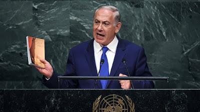 Sublime discurso del Primer Ministro de Israel en la Asamblea General de la ONU en setiembre de 2016. Netanyahu desenmascara a un fórum cuya agenda se centra en demonizar a un estado democrático: Israel.
