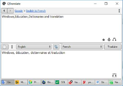تحميل برنامج الترجمة QTranslate بالنص والصوت للكمبيوتر مجانا