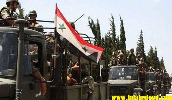النظام يواصل ارسال تعزيزات حاشدة الى ريف ادلب