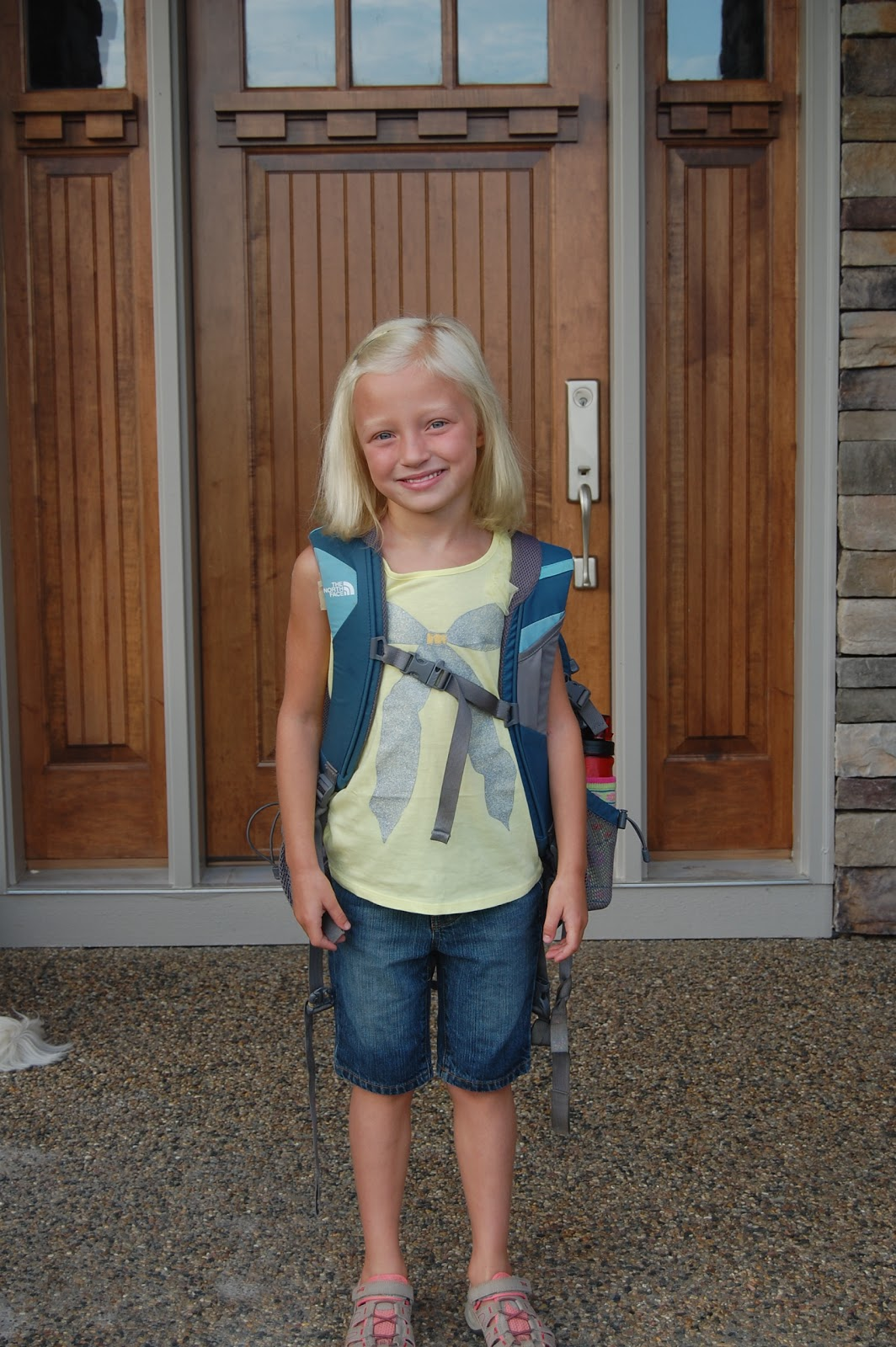 Eidsness Family Blog: First day of School 2011