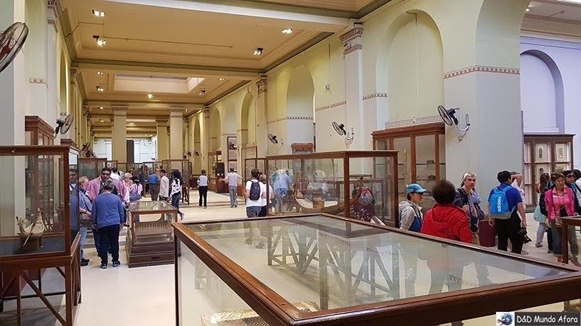 Segundo andar do Museu do Cairo