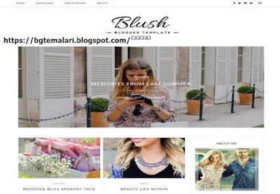 Blush Blogger Teması