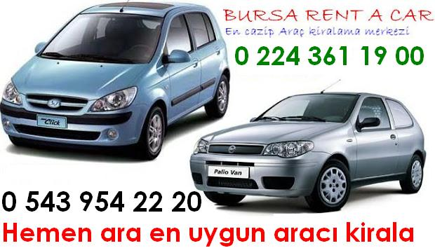 BURSA RENT A CAR 0 543 954 22 00 BURSA ARABA KİRALAMA 0 224 361 19 00