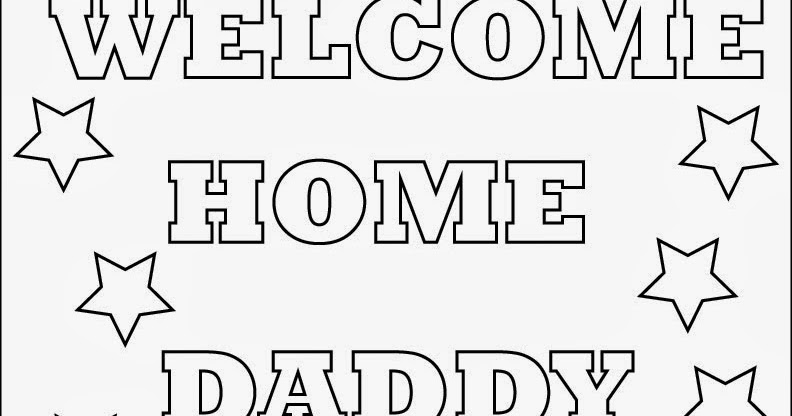 House on Sunflower Lane: Welcome Home Daddy!