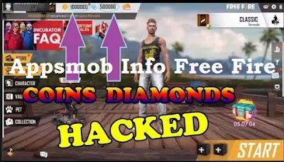 Appsmob Info Free Fire || Hack Diamond & Gold dengan appsmob.info/freefire hack