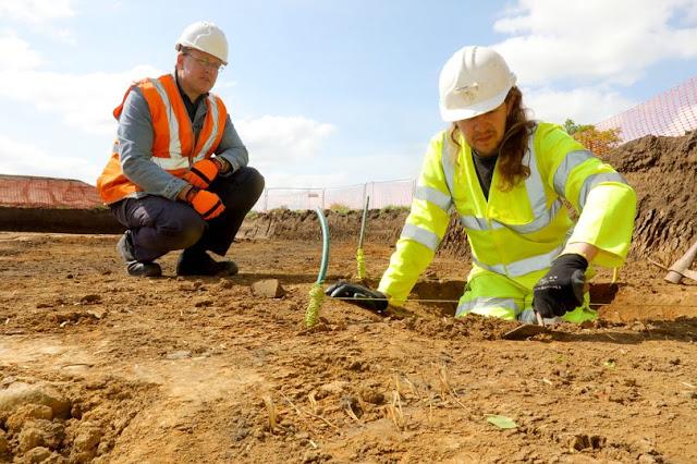 Roman burial ground discovered near Cambridge