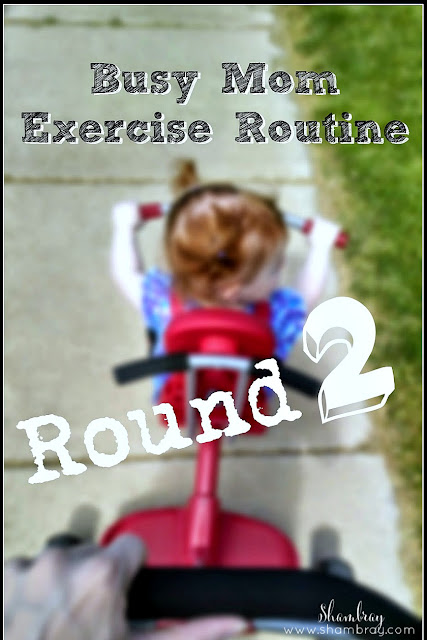 Check out this fun exercise routine for women.  It can even be done if you are a busy mom.