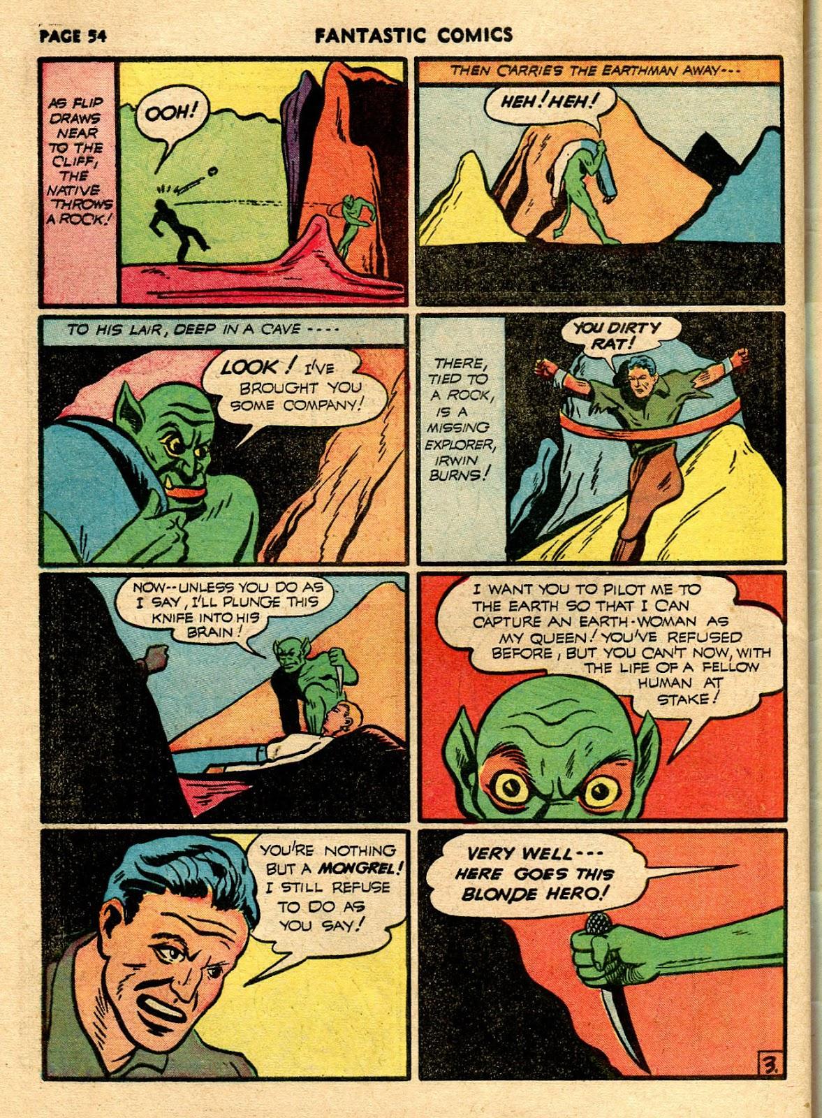 Read online Fantastic Comics comic -  Issue #21 - 52