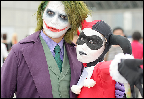 Cosplay photo of Harley Quin and The Joker