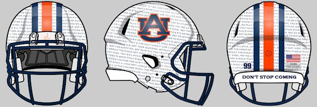 auburn football concept helmet