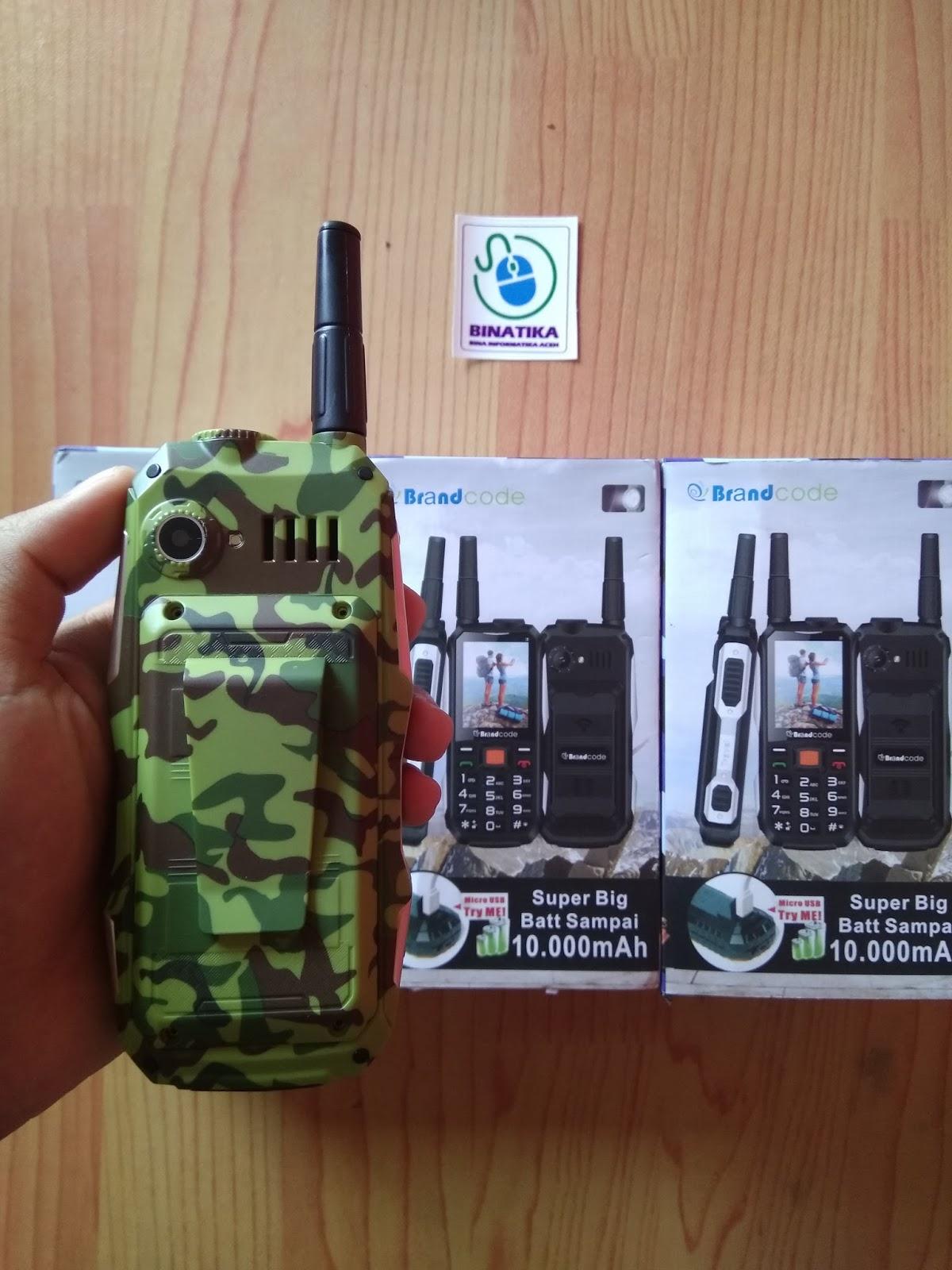 Brandcode B81 Model Loreng Army Baterai 10000 Mah Bisa Powerbank Binatika Shop
