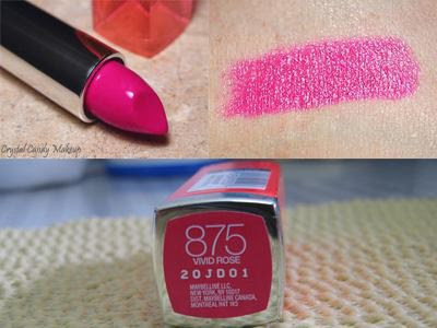 Son môi Maybelline New York ColorSensational Lipcolor 875 Vivid Rose - SM012