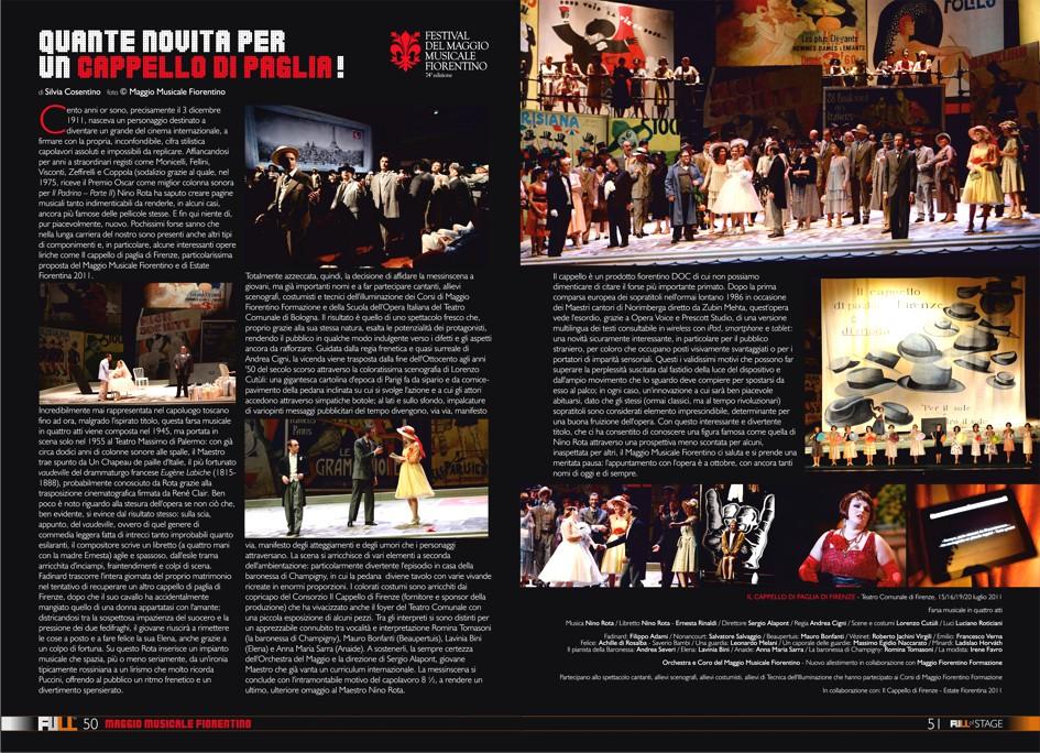 IL CAPPELLO DI PAGLIA DI FIRENZE ~ FULL Magazine. Benvenuti in una nuova  concezione editoriale 7a40d865cc1f