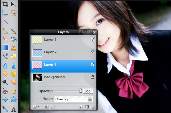 membuat efek warna foto