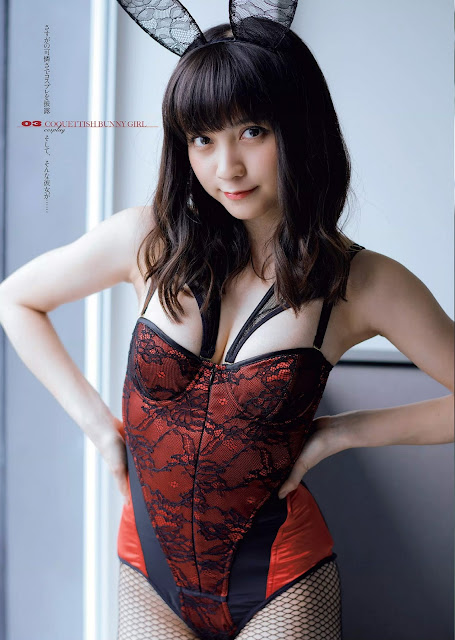 Momotsuki Nashiko 桃月なしこ Weekly Playboy No 19-20 2018
