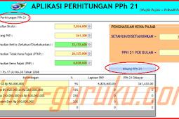 Download Aplikasi Penghitungan Pajak PPH Lengkap dengan Kode