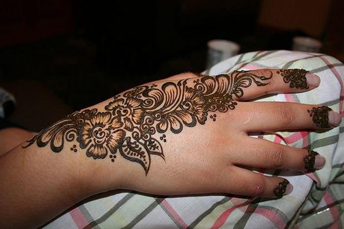 Temporary Henna Tattoos: LiLo: Hindu Henna Temporary Tattoo, Mehndi / Мехенди