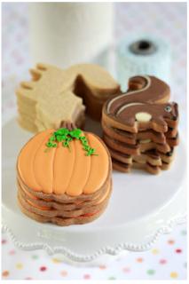 Pumpkin Spice Cut-Out Cookies