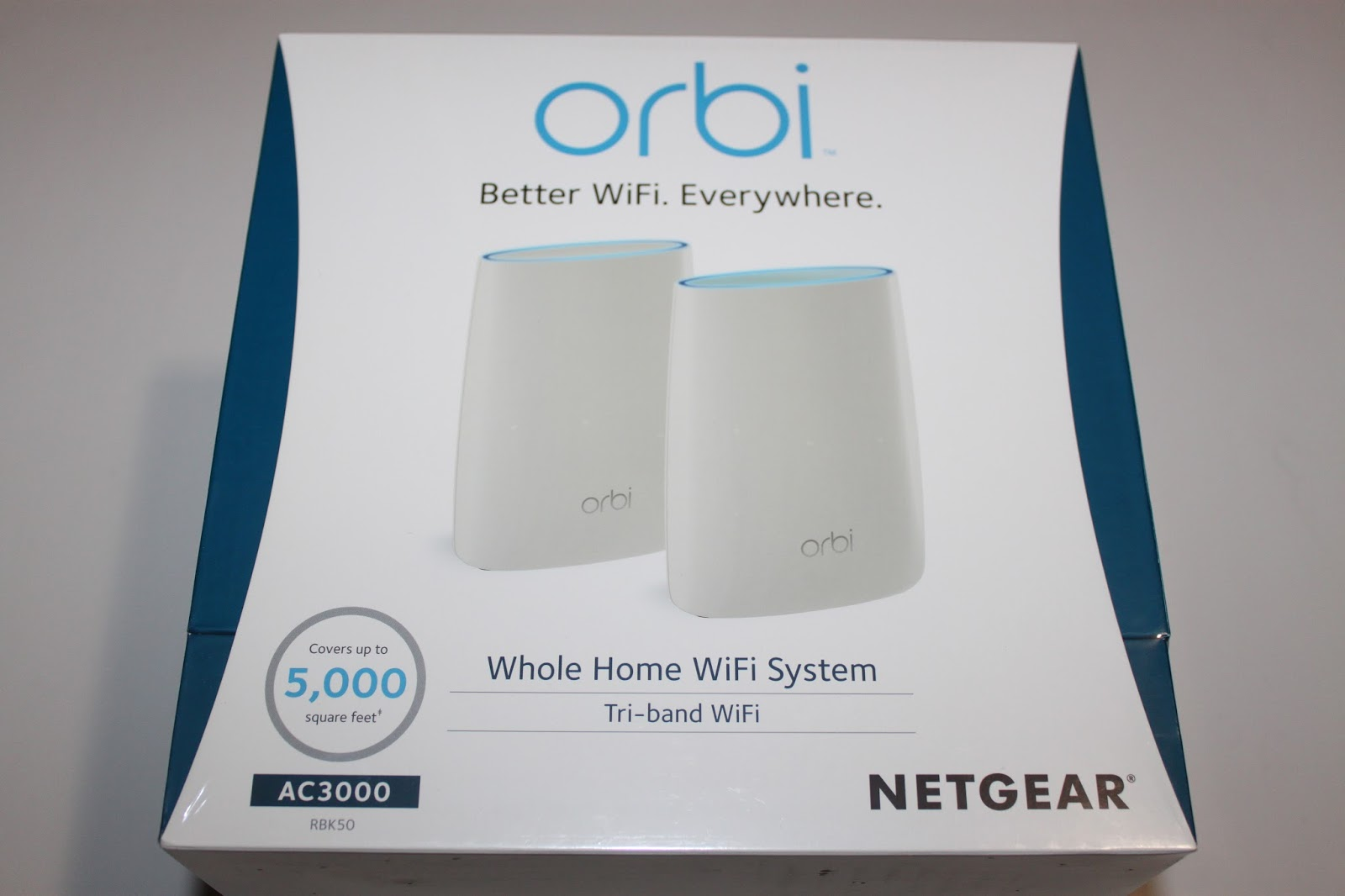 Stereowise Plus: NETGEAR Orbi WiFi System AC3000 RBK50 Review