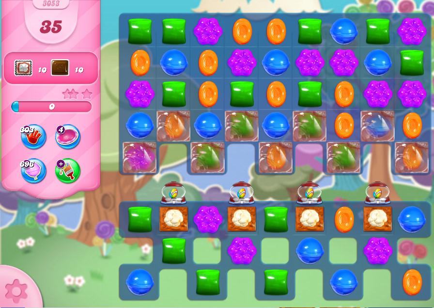 Candy Crush Saga level 3053