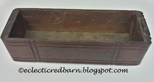 Old sewing drawer @ Eclectic Red Barn